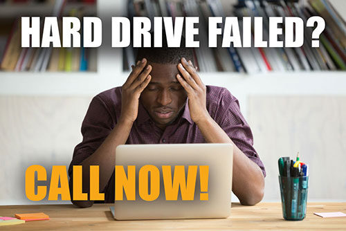 failed hard drive data recovery